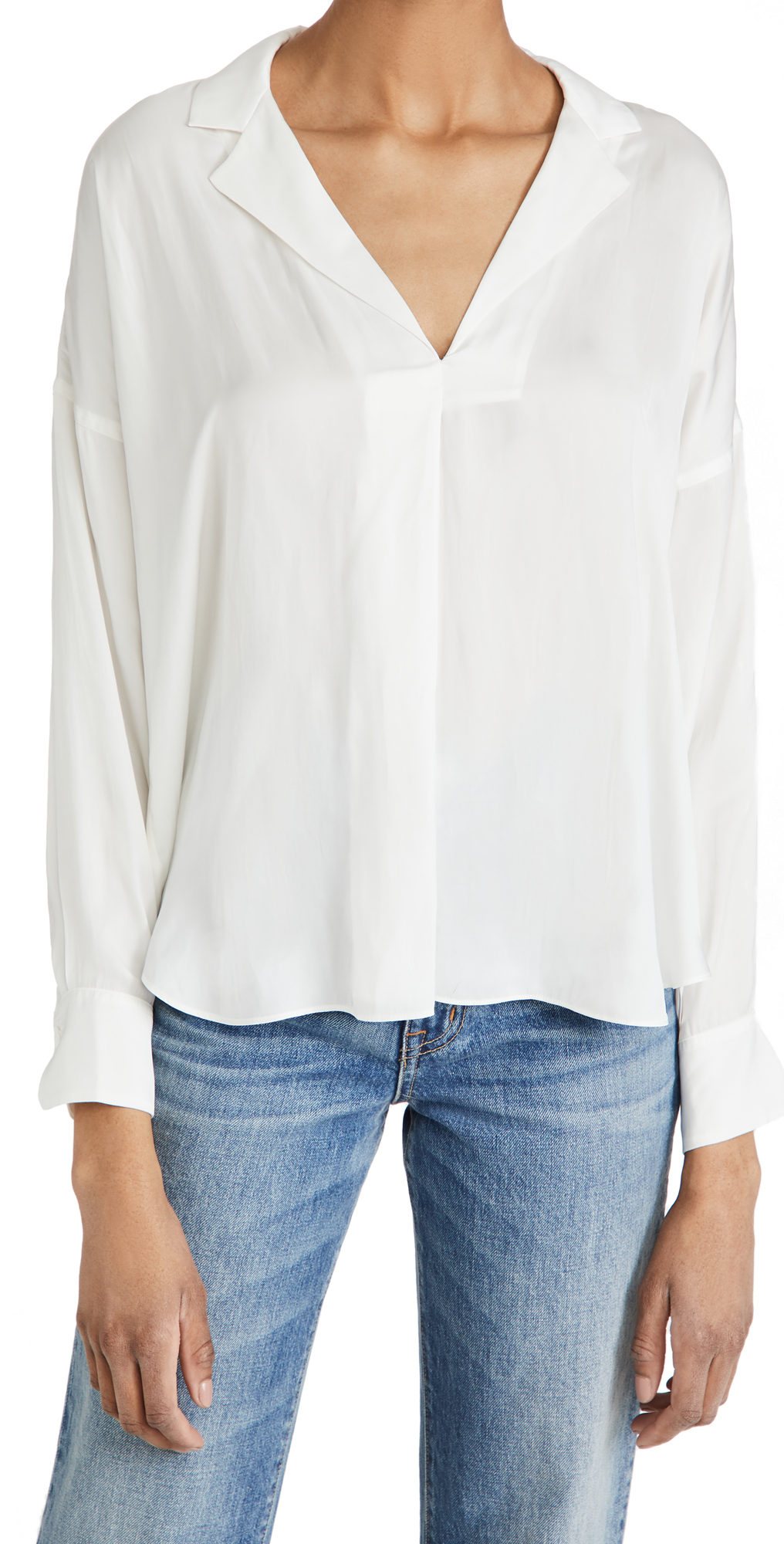 Zadig & Voltaire Tamy Satin Blouse