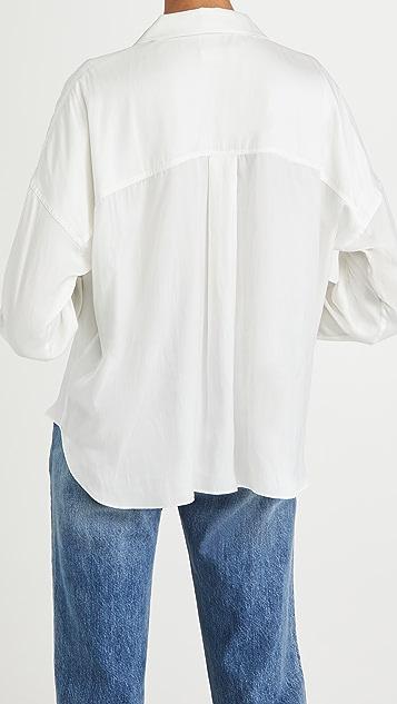 Zadig & Voltaire Tamy 缎面女式衬衫