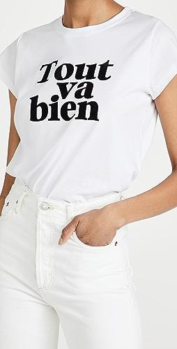 Zadig & Voltaire - Woop Tout Va Bien T 恤