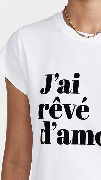 Zadig & Voltaire J'ai Reve D'Amour T 恤