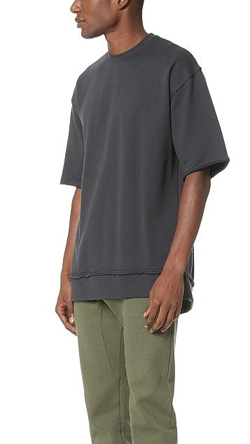 Zanerobe Rugger 3/4 Crew Sweatshirt