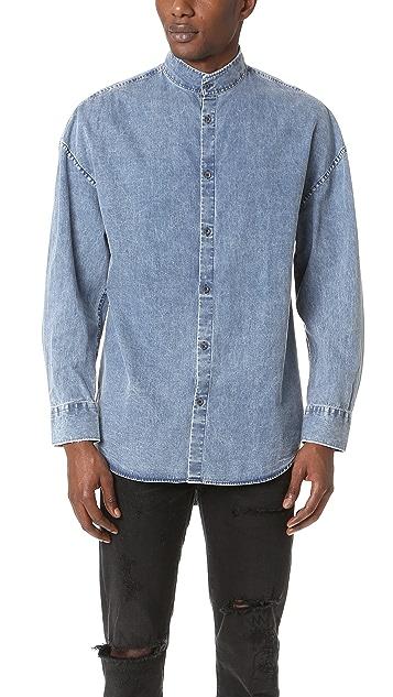 Zanerobe Band Rugger Denim Shirt