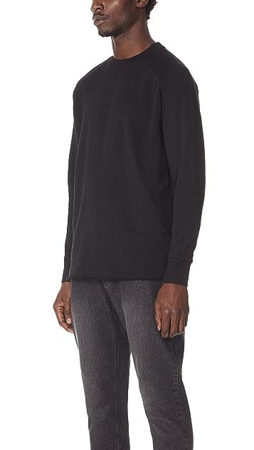 Zanerobe Torn Crew Sweatshirt
