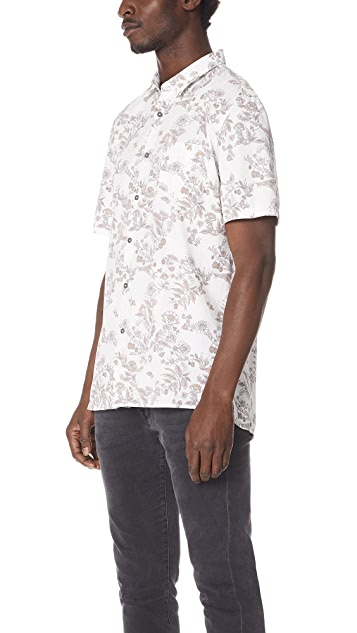 Zanerobe Botany Box Short Sleeve Shirt
