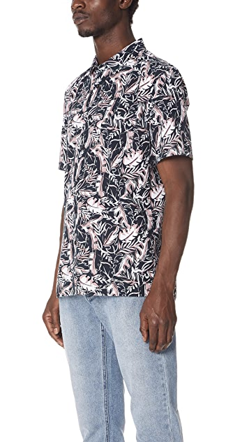 Zanerobe Fern Box Short Sleeve Shirt