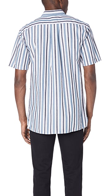 Zanerobe Striped Button Down Shirt