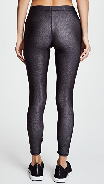Terez Crystal Skull Performance Leggings
