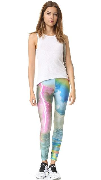 Terez Electric Rainbow Leggings