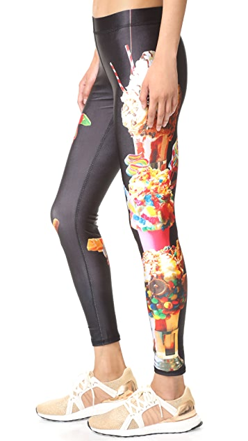 Terez Black Tap Leggings