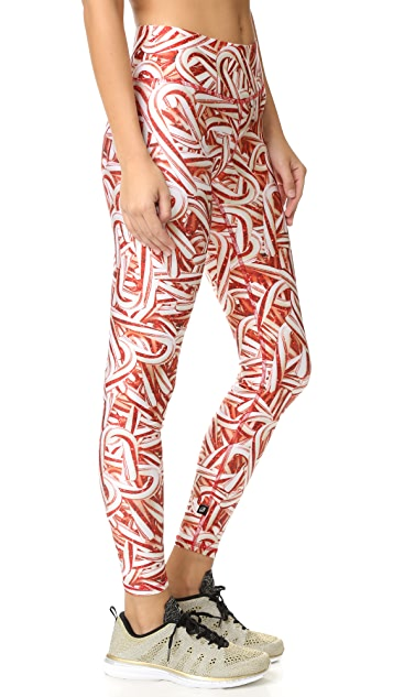 Terez Candy Canes Tall Band Pants