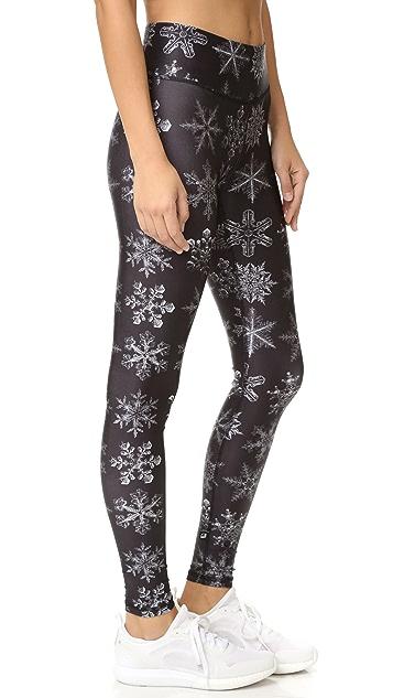 Terez Snow Flakes Tall Band Pants