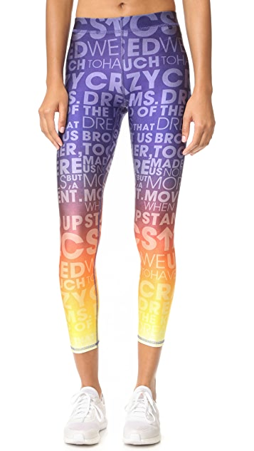 Terez Stand Up to Cancer Leggings
