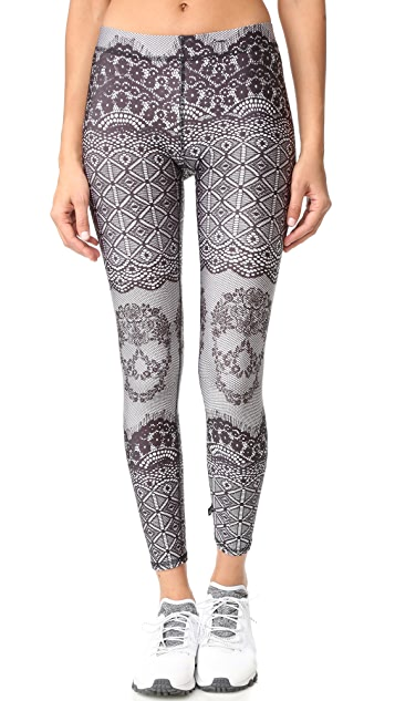 Terez Skullace Performance Leggings