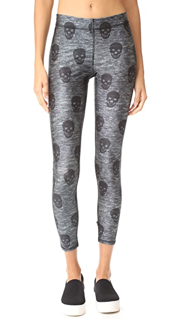 Terez Skull Star Power Performance Leggings
