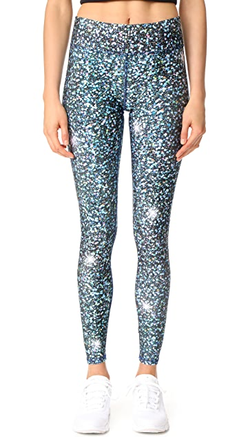 Terez Glitter Night Skies Tall Band Pants