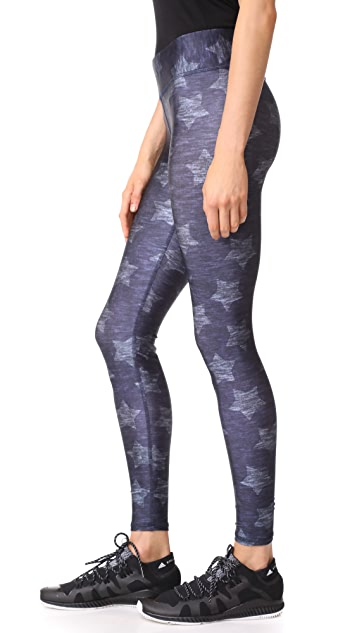 Terez Star Print Tall Band Pants