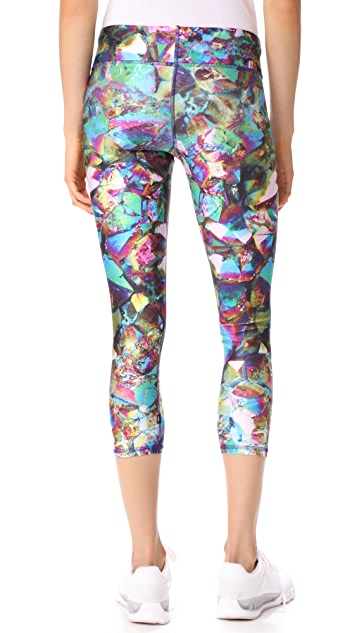 Terez Tall Band Capri Leggings