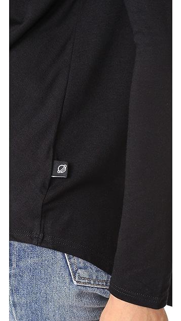 Terez Twist Front Long Sleeve