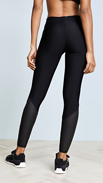 Terez Star Laser Cut Leggings