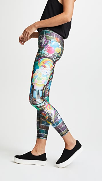 Terez Black Tap Performance Leggings