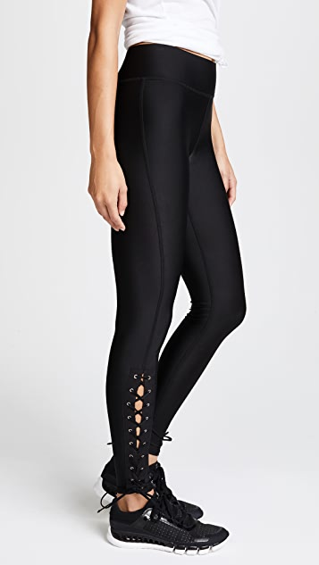 Terez Lace Up Leggings