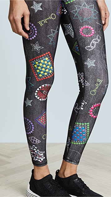 Terez Neon Crystals Leggings