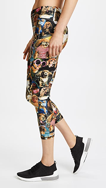 Terez Toast Meets World Leggings