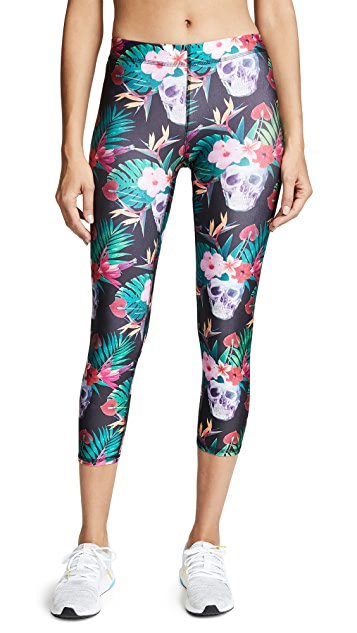 Terez Killer Luau Performance Capri Leggings