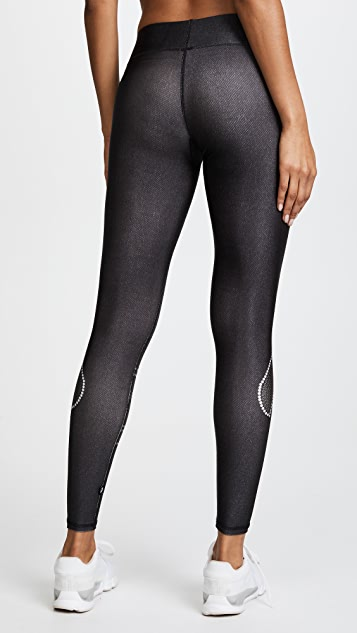 Terez Crystal Vader Tall Band Leggings