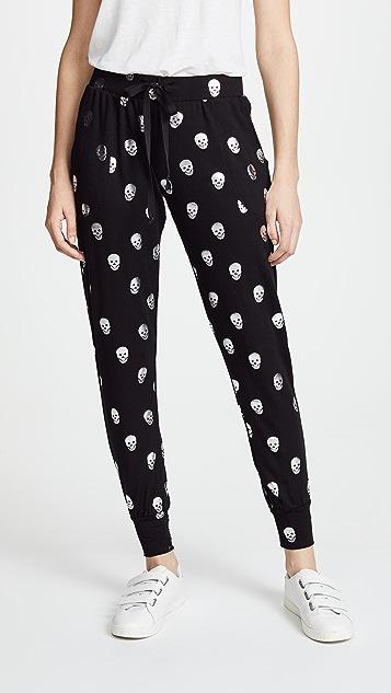 484b155a48 Foil Printed Jogger Pants