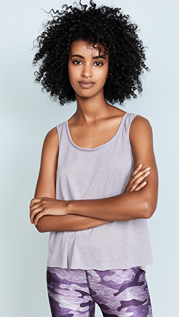 Terez High Low Swing Tank Top