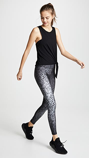 Terez Cheetah Tall Band Leggings