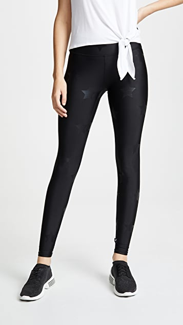 cdb87f386337e Terez Star Foil Printed Tall Band Leggings | SHOPBOP