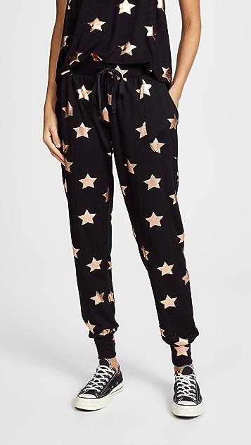 Terez Star Foil Joggers