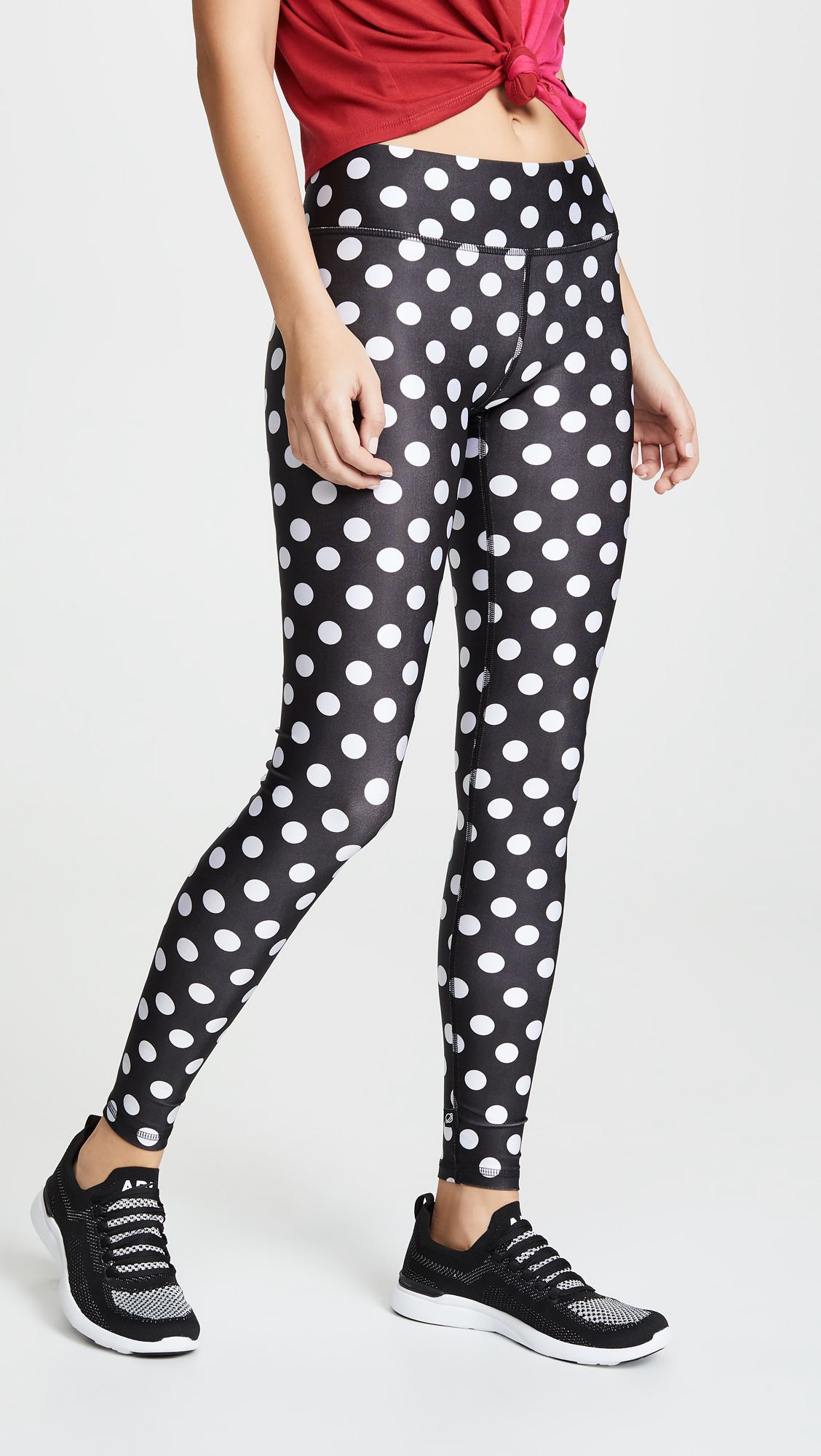 Terez Lets Polka Tall Band Leggings