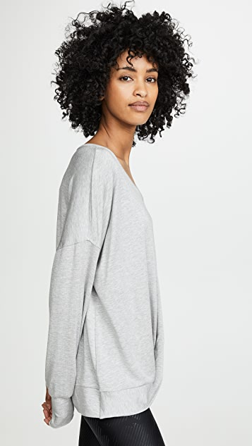Terez French Terry Twist Sweatshirt