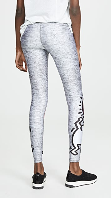 Terez x Keith Haring Uplifted Leggings