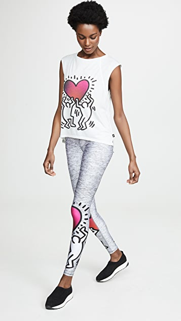Terez Леггинсы x Keith Haring Uplifted