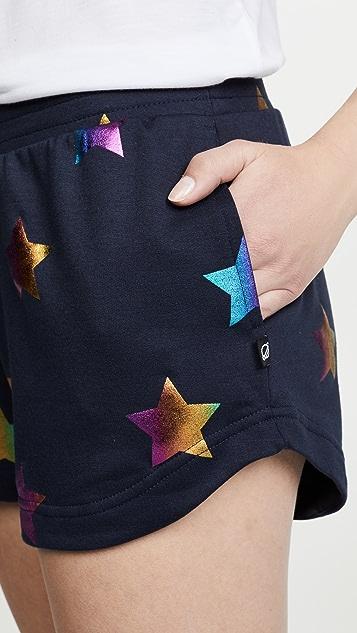Terez Блестящие шорты со звездами