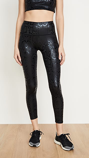 Terez High Rise Foil Leggings