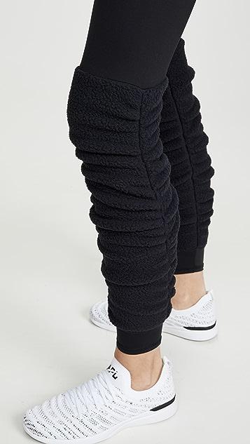 Terez 绒布暖腿套贴腿裤