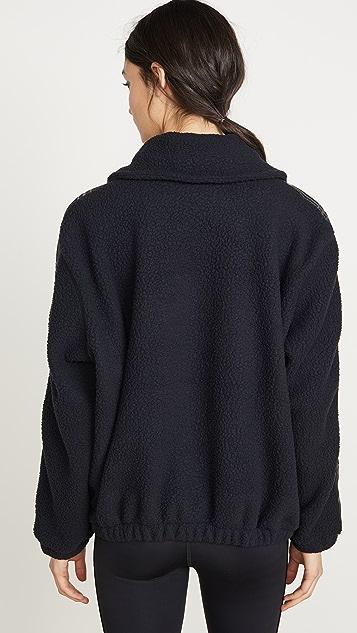 Terez 绒布拉链夹克