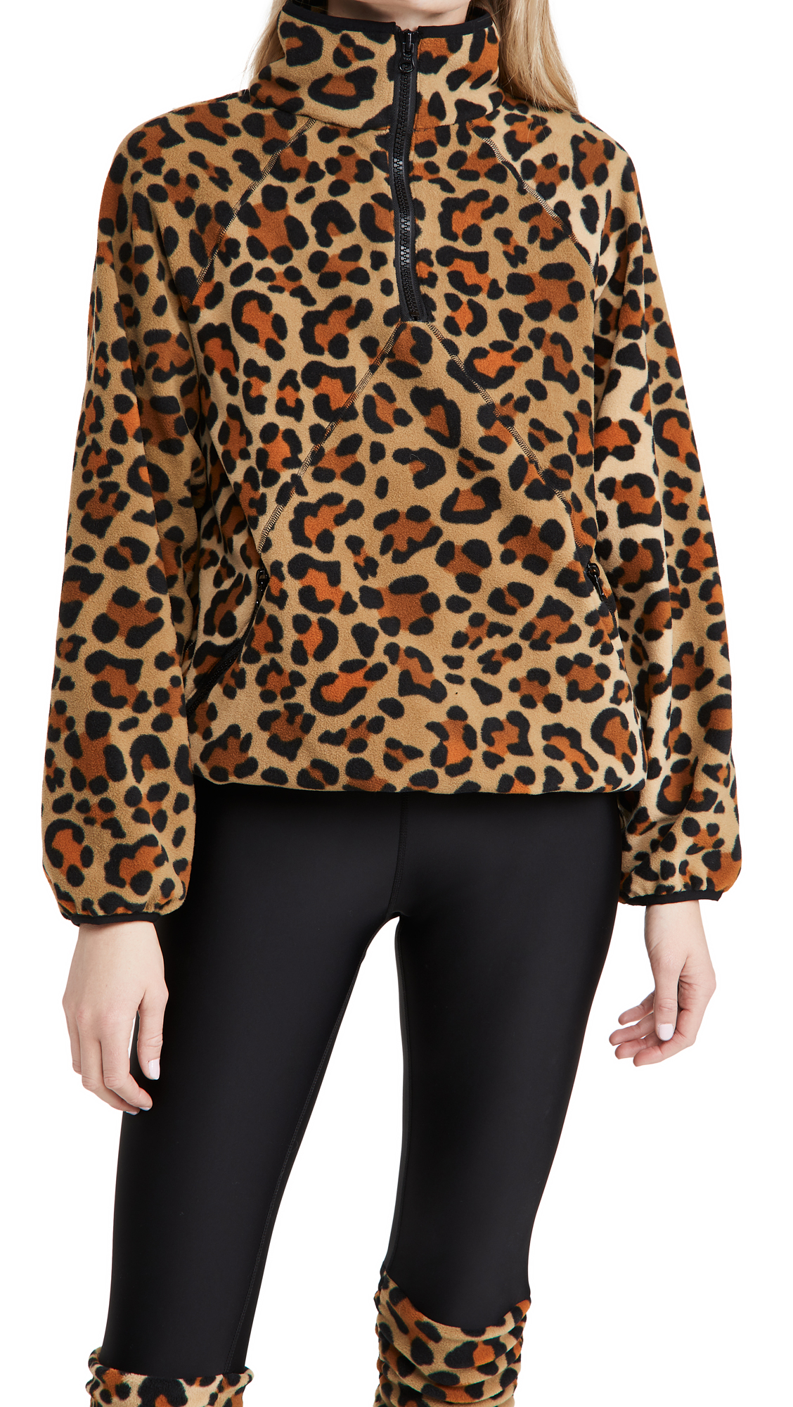 Terez Zip Fleece Pullover