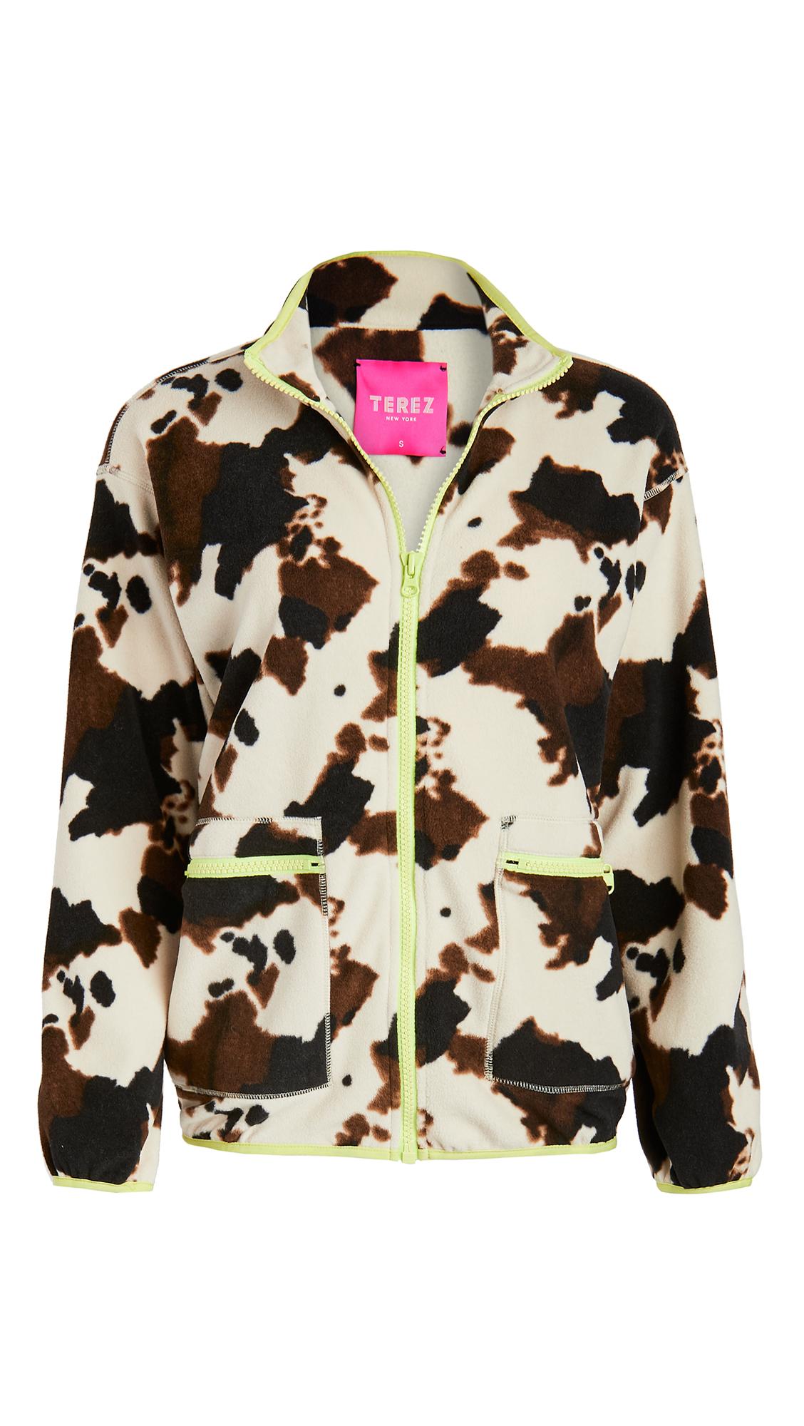 Terez Fleece Zip Up Jacket
