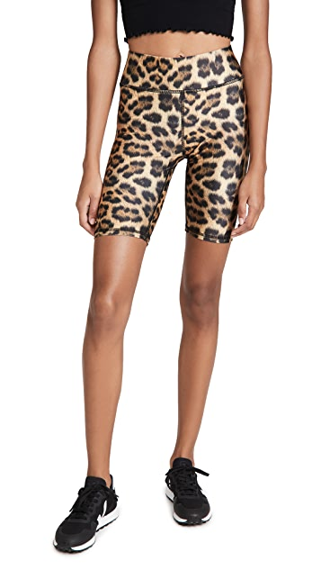 Terez Leopard Goals Bike 短裤