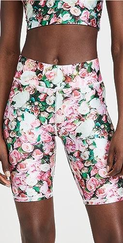 Terez - 花卉机车短裤