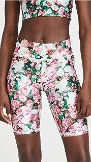 Terez Floral Bike Shorts
