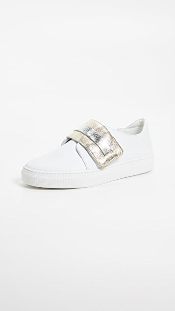 ZCD Montreal CD Sneakers - Bianco/Oro/Argento