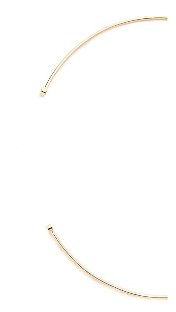 Zoe Chicco 14k Gold Choker with Diamonds Necklace