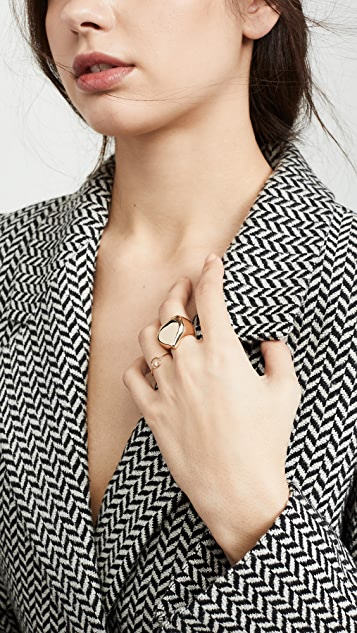 Zoe Chicco 14k Gold Paris Circle Stacking Ring